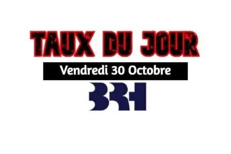 Haiti/ Taux affichés par les Banques pour ce 30 octobre 2020 -