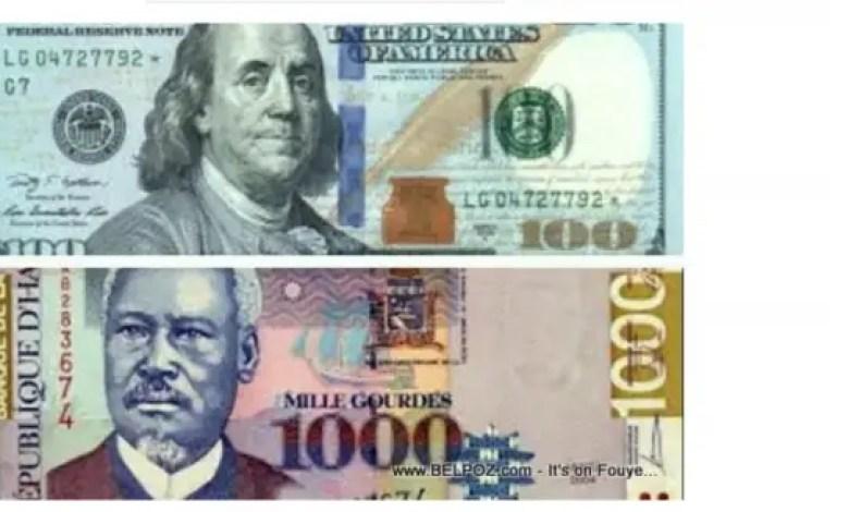 Haïti/ Taux affichés par les banques pour ce 4 novembre 2020 - BRH, mci
