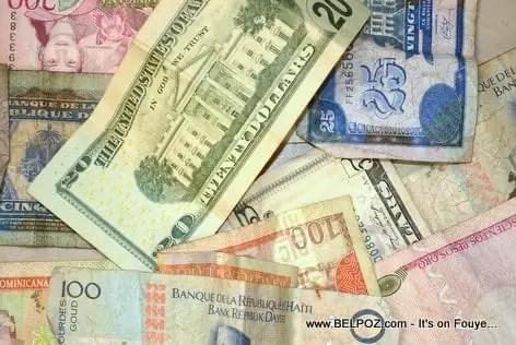 Haïti/ Taux du jour affichés par les Banques ce 12 Janvier 2021. -