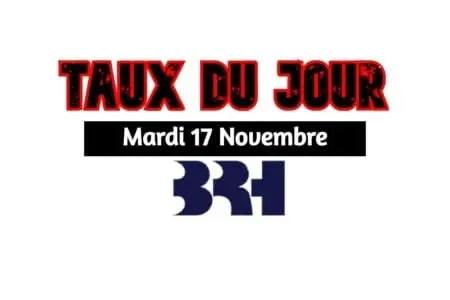 Haïti/ Taux affichés par les banques pour ce 17 novembre 2020. -