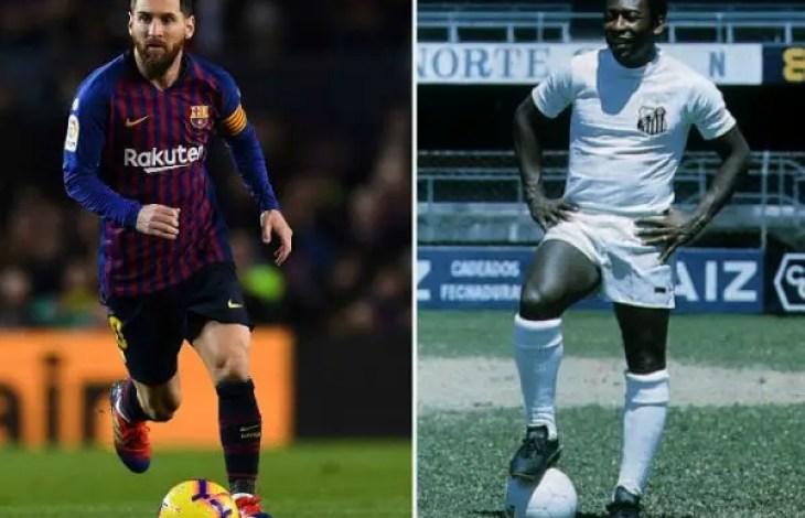Football/ Lionel Messi bat un nouveau record et, est sur le point de depasser le grand Pelé. - Lionel Messi