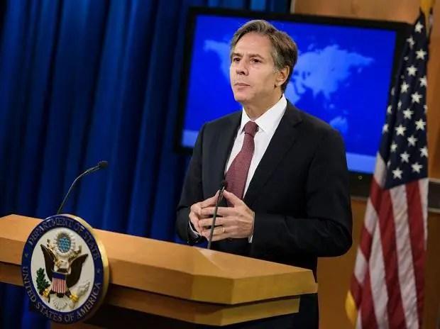 International : le Sénat Confirme le choix d'Anthony Blinken au Poste de Secrétaire d'État. - États-Unis, Joe Biden