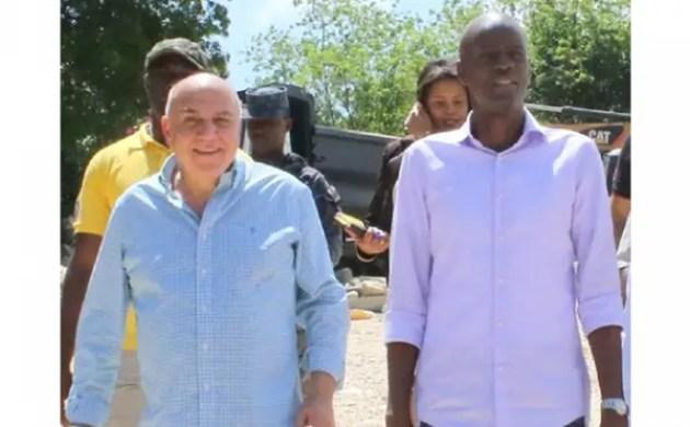 ReginaldBoulosa le regret d'avoirportéJovenelMoise aupouvoir. - Core Group, Desras Simon Dieuseul, Jean-Charles Moïse, Reginald Boulos