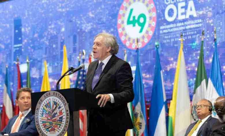 LeSecrétaire Généralde l'OEA favorable auxélectionsenHaïti. - André Michel, CEP, Core Group, Jovenel Moise échoué avec agritrans, opposition