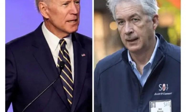 Actualités Internationales : Joe Biden nomme William Burns aux commandes de la CIA. - Joe Biden