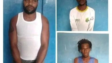 Trois présumés bandits de la base « 400Mawozo» sont interpellés àMirebalaispar la Police. - 400 Mawozo
