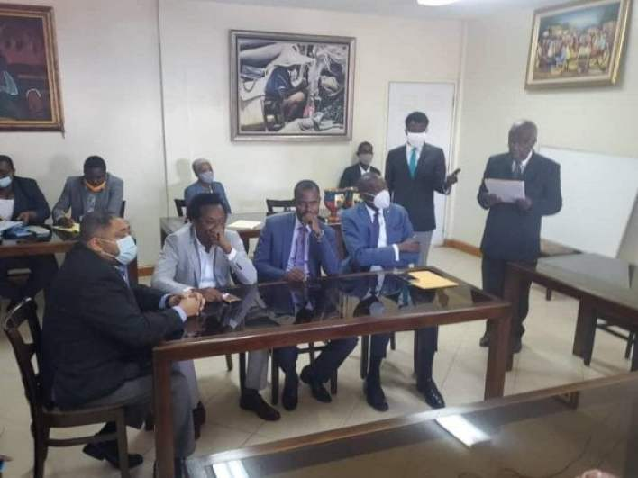 Joseph Lambert une nouvelle fois élu président du Sénat haïtien - Joseph Lambert, Senat