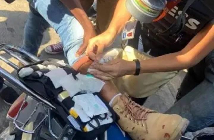 Manifestation : Usage excessif de gaz lacrymogènes, un journaliste blessé -