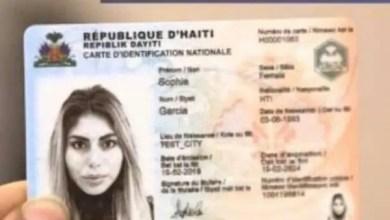 Haïti-Référendum : L'ONI est en mesure de fabriquer et livrer toutes les cartes d'identification avant 27 juin prochain, selon le DG - Carte Dermalog, ONI, Référendum