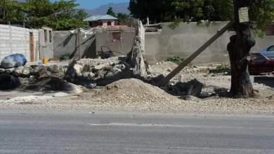 Arcahaie : La PNH détruit plusieurs maisonnettes à Kafou pòy - Arcahaie
