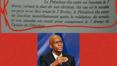 Haïti - Crise : des organisations de droits humains annoncent une marche pour le 14 février prochain - Constitution
