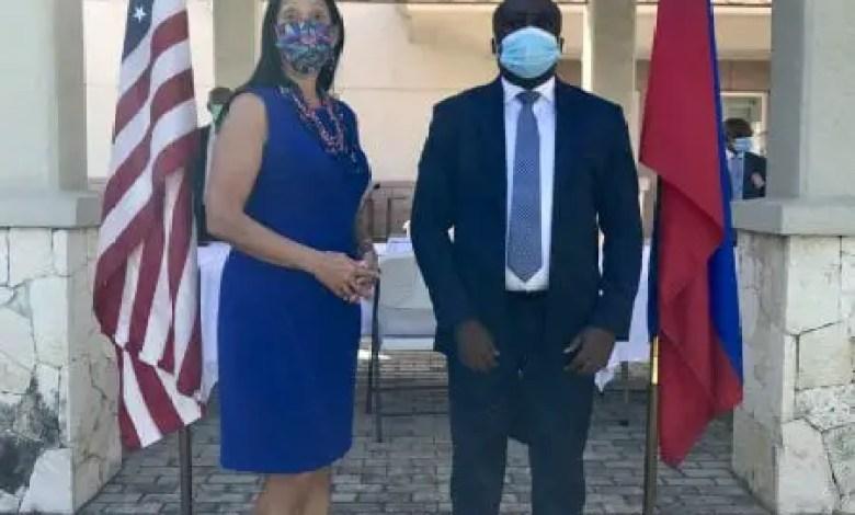 L'ambassade américaine a consulté le président de la Cour des compte Me Rogavil Boisguéné - Michele Jeanne Sison