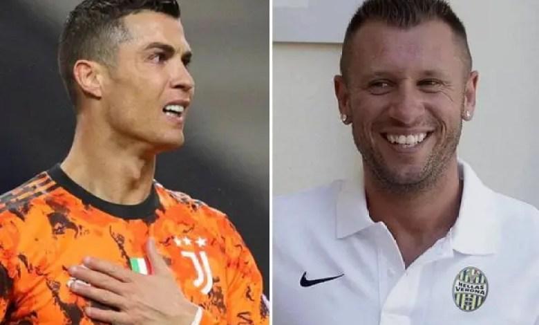 Football : « Cristiano Ronaldo est un égoïste » affirme Antonio Cassano - Cristiano Ronaldo