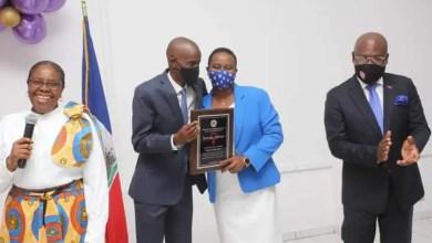 La première Dame de la République honorée par le MCFDF - Martine Moïse