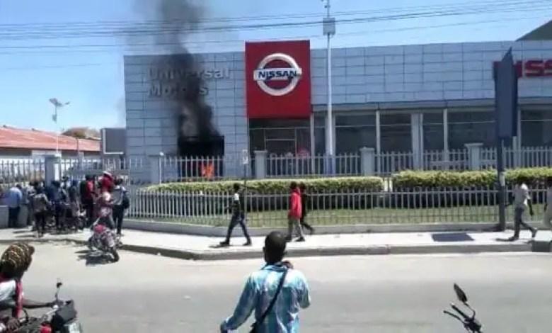 Incendie et pillage à Universal Motors: le MTVAYITI responsabilise le pouvoir en place - MTV, Reginald Boulos