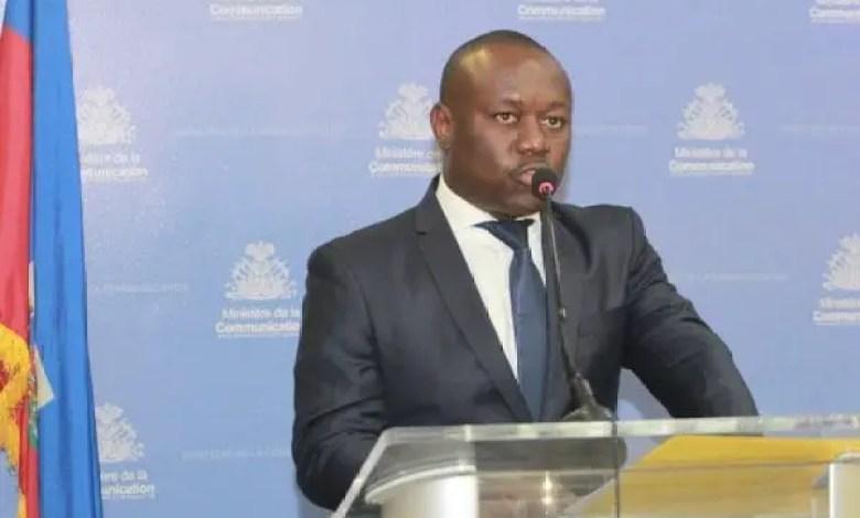 Violences: Le SE à la Communication condamne les déclarations de certains leaders politiques - Frantz Exantus