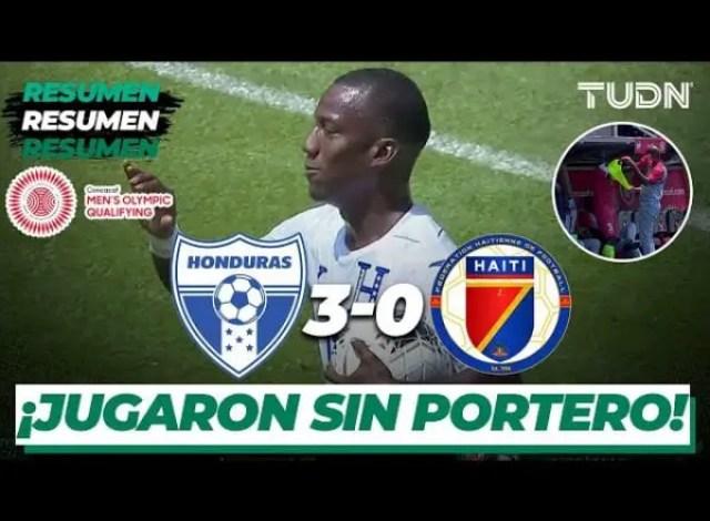 Éliminatoires/JO Tokyo 2021: faute d'effectif, Haïti perd son premier match face au Honduras - Haïti, Honduras, JO, Tokyo 2021