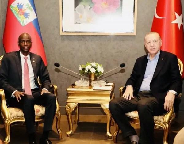 Jovenel Moïse a été reçu par le président turc Recep Tayyip Erdogan en marge du forum diplomatique d'Antalya - Jovenel Moïse, Recep Tayyip Erdogan, Turquie