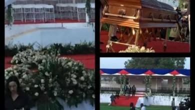 Tout est fin prêt pour les funérailles de Jovenel Moïse - Funérailles, Jovenel Moïse