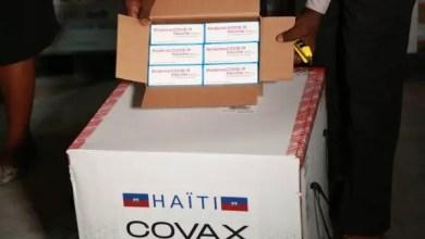 Un lot de 500 000 doses de vaccins anti Covid-19 arrivé en Haïti - Covid-19, Vaccin