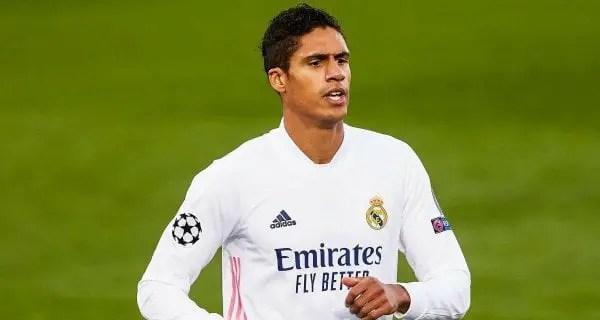 Football : le Real Madrid a annoncé le transfert de Raphaël Varane à Manchester United - Raphaël Varane, Real Madrid