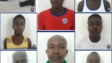 Au moins huit individus, accusés d'enlèvement et d'assassinat, arrêtés à Hinche - PNH