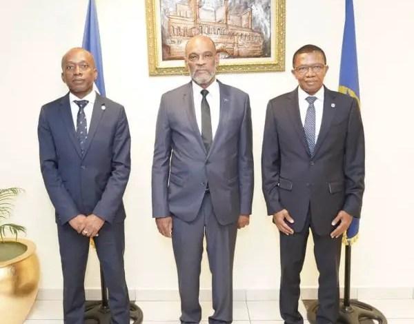 Economie: le Premier ministre Ariel Henry s'est entretenu avec le gouverneur de la banque centrale - Ariel Henry, BRH