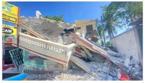 Séisme en Haïti: au moins 29 morts, l'état d'urgence décrété pour un mois -