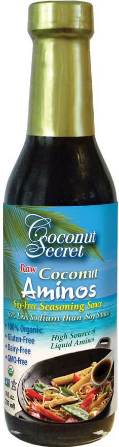 8 oz Coconut Aminos With Sea Salt by Coconut Secret - Wild ...