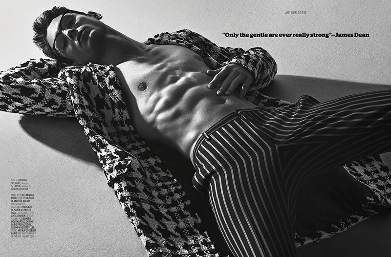 AUGUST MAN MAGAZINE Arthur Gosse by Anthony Meyer. Sonia Logerot, April 2016, www.imageamplified.com, Image amplified (7)