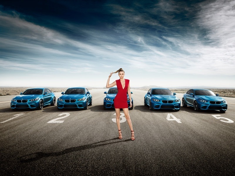 CAMPAIGN Gigi Hadid for BMW M2 Coupe 2016. www.imageamplified.com, Image Amplified (3)