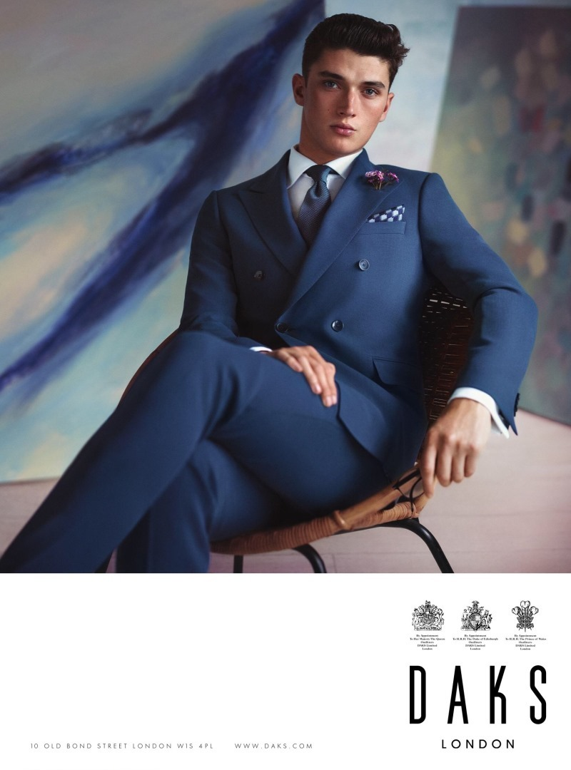 CAMPAIGN Matthew Holt for DAKS London Spring 2016 by Adam Whitehead. Sam Logan, www.imageamplified.com, Image Amplified (3)