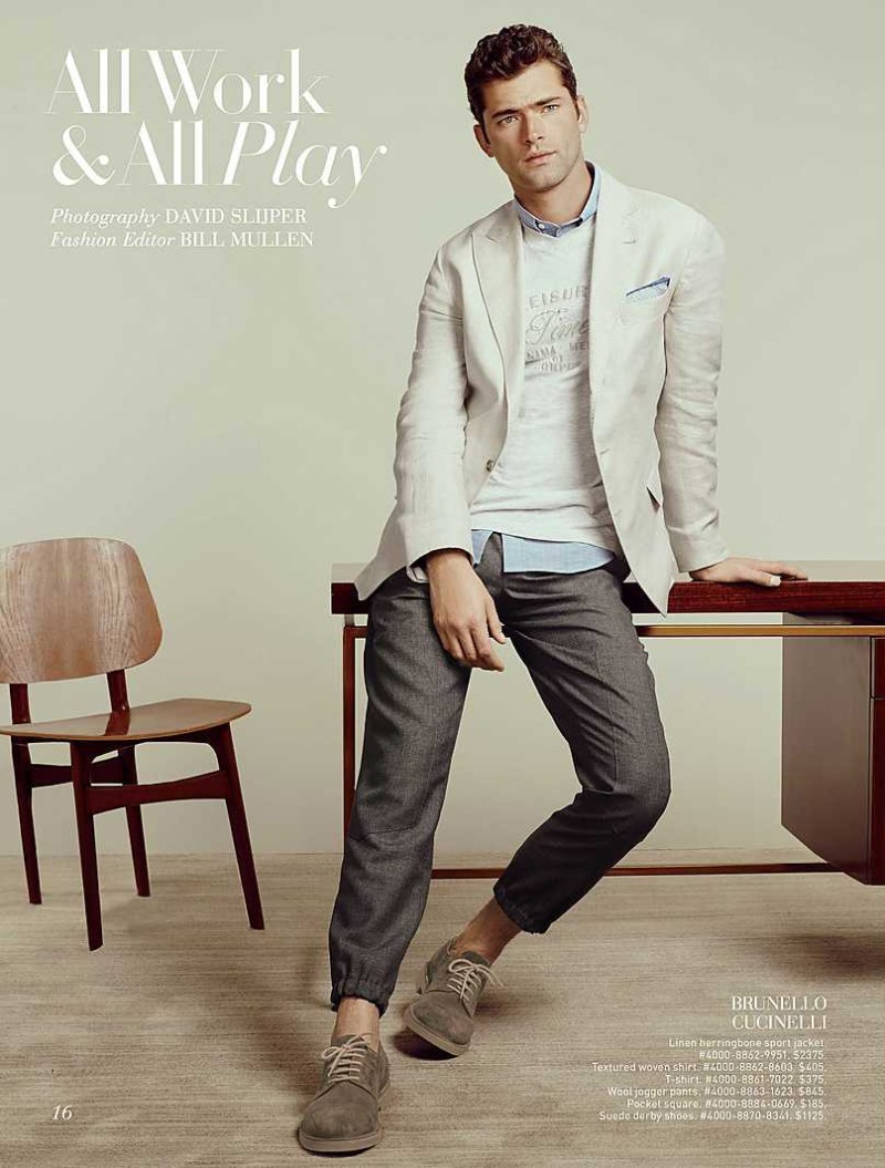 CATALOGUE Sean O'Pry for Saks Fifth Avenue March 2016 by David Slijper. Bill Mullen, www.imageamplified.com, Image Amplified (1)