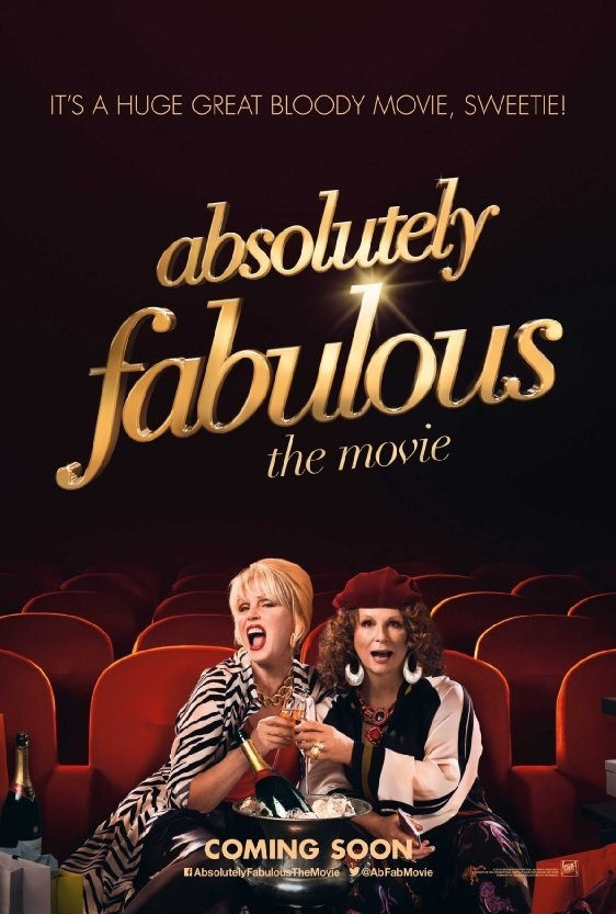 CINEMA SCAPE Absolutely Fabulous The Movie Starring Jennifer Saunders & Joanna Lumley, Directed by Mandie Fletcher, Out July 2, 2016. www.imageamplified.com, Image amplified (1)