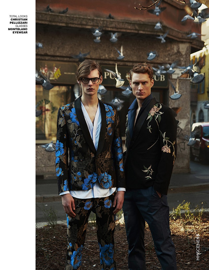 MMSCENE Gordon Bothe & Mats van Snippenberg by Igor Cvoro. Stefano Guerrini, Spring 2016, www.imageamplified.com, Image Amplified (7)