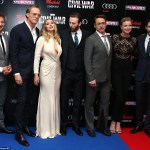 RED CARPET MOVIE PREMIERE: Captain America Civil War, Westfield Vue Cinema in London World Premiere