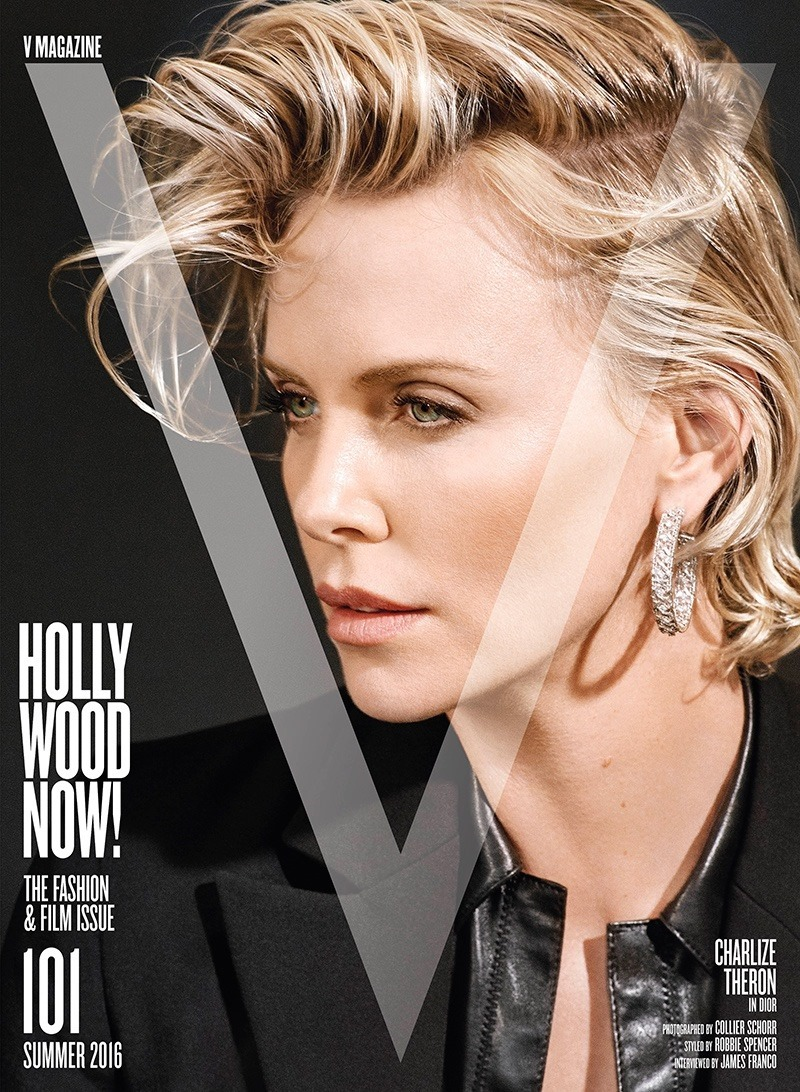 V MAGAZINE Charlize Theron by Collier Schorr. Spring 2016, www.imageamplified.com, Image Amplified (1)