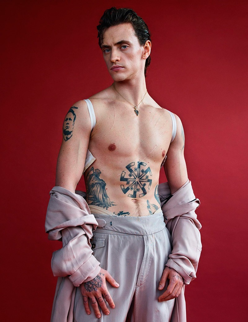 VOGUE HOMMES PARIS Sergei Polunin by Mario Sorrenti. Anastasia Barbieri, Spring 2016, www.imageamplified.com, Image amplified (5)