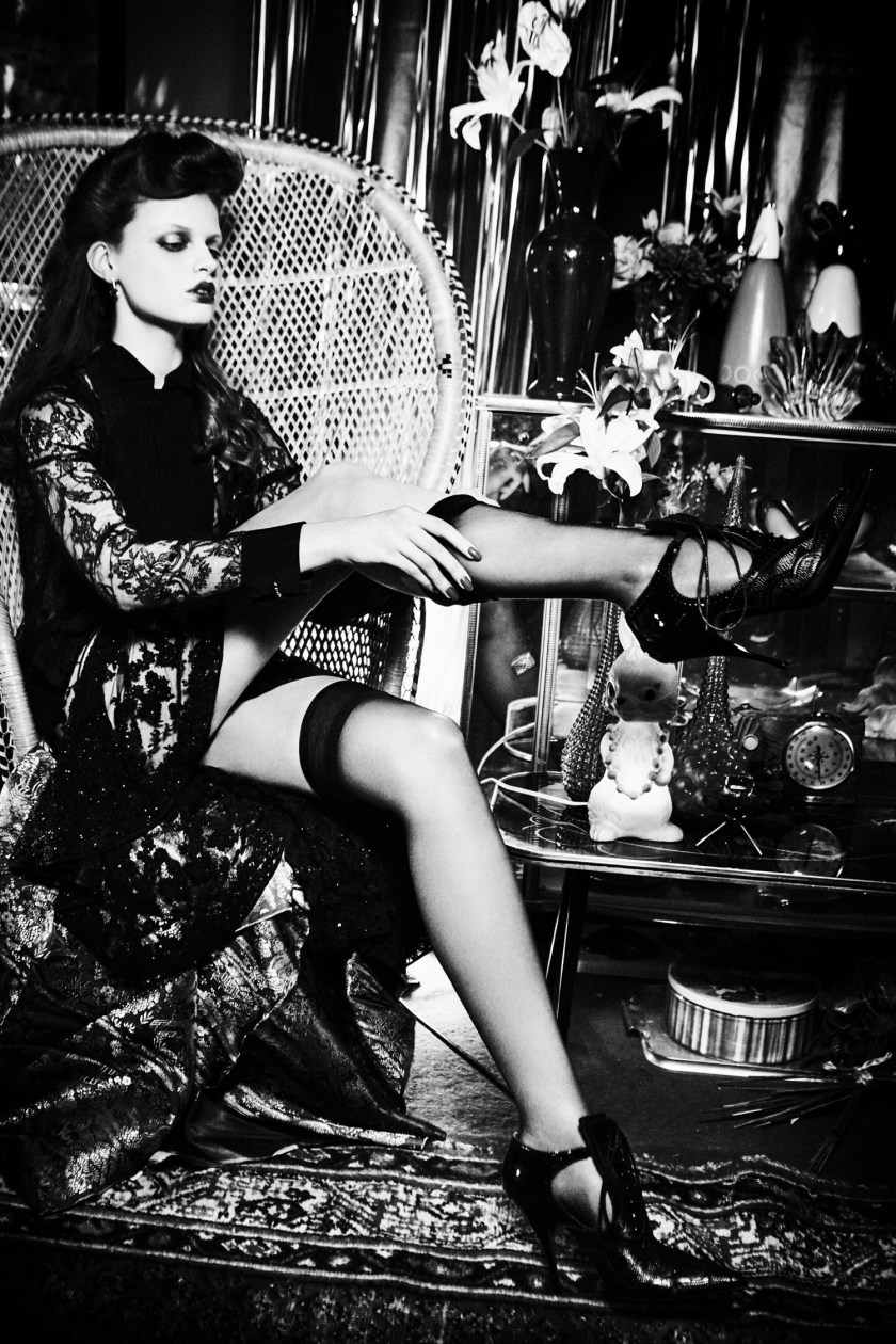 VOGUE JAPAN Milan Van Eeten by Ellen von Unwerth. Alice Gentilucci, June 2016, www.imageamplified.com, Image Amplified (3)