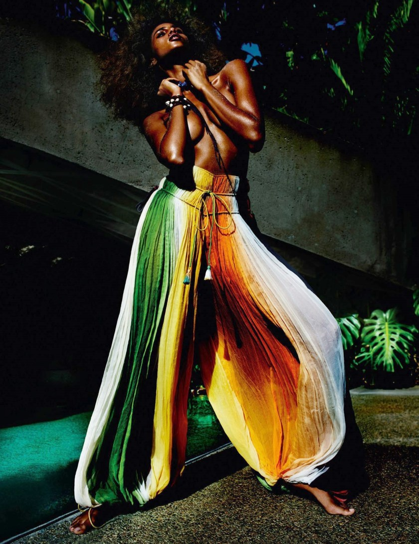 VOGUE PARIS Imaan Hammam by Mario Testino. Emmanuelle Alt, May 2016, www.imageamplified.com, Image Amplified (5)