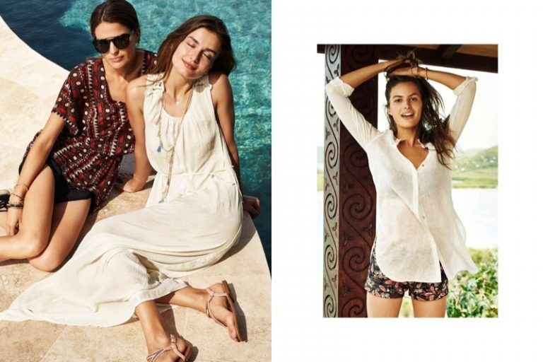 CAMPAIGN Cameron Russell & Andreea Diaconu for H&M Summer 2016. www.imageamplified.comm, Image Amplified (3)