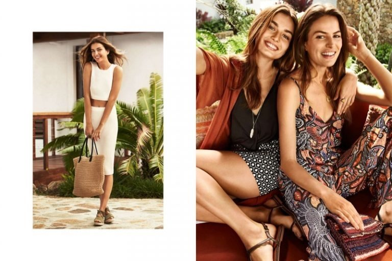 CAMPAIGN Cameron Russell & Andreea Diaconu for H&M Summer 2016. www.imageamplified.comm, Image Amplified (4)