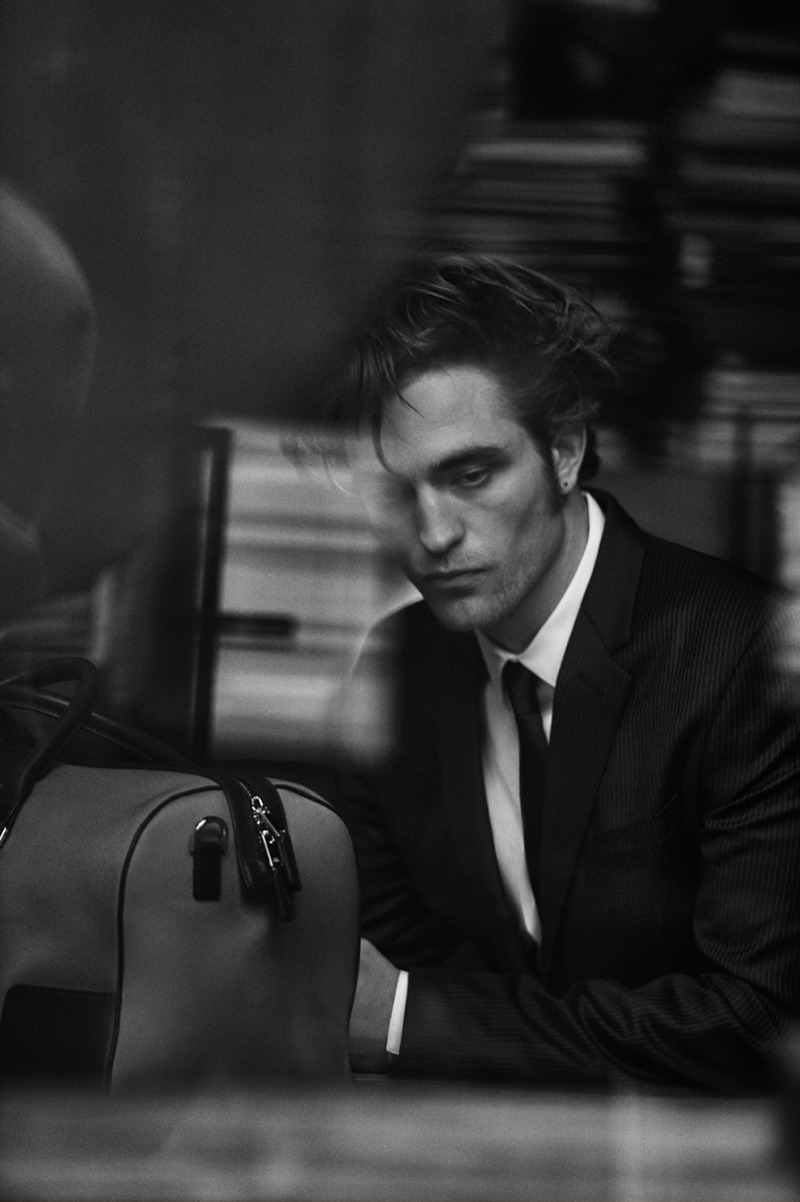 DIOR MAGAZINE Robert Pattinson in Dior Homme by Peter Lindbergh. Spring 2016, www.imageamplified.com, Image Amplified (3)