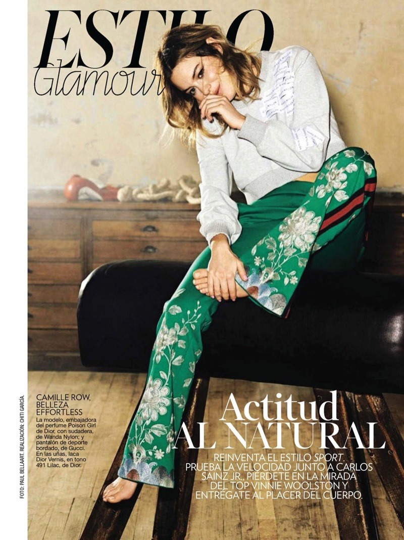 GLAMOUR SPAIN Camille Rowe by Paul Bellaart. Chiti Garcia, May 2016, www.imageamplified.com, Image Amplified (3)