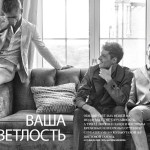 GQ RUSSIA: Taras, Dmitry & Dane by Walter China