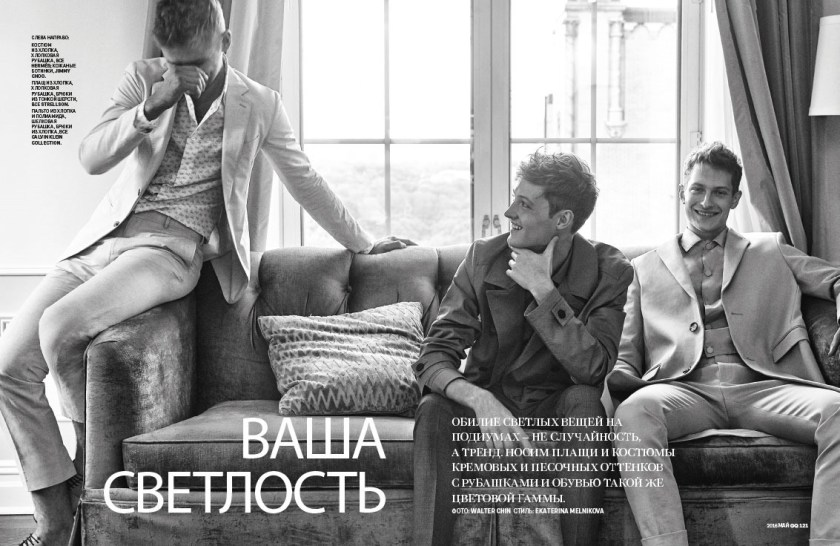 GQ RUSSIA Taras, Dmitry & Dane by Walter China. Ekaterina Melnikova, April 2016, www.imageamplified.com, Image Amplified (1)