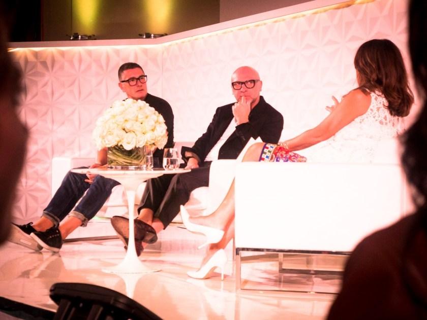 IA UPDATE Domenico Dolce & Stefano Gabbana, Dolce & Gabbana's Italian Journe with Alexandra Shulman at Vogue Festival 2016 by Troy Wise & Rick Guzman. www.imageamplified.com, Image Amplified (41)