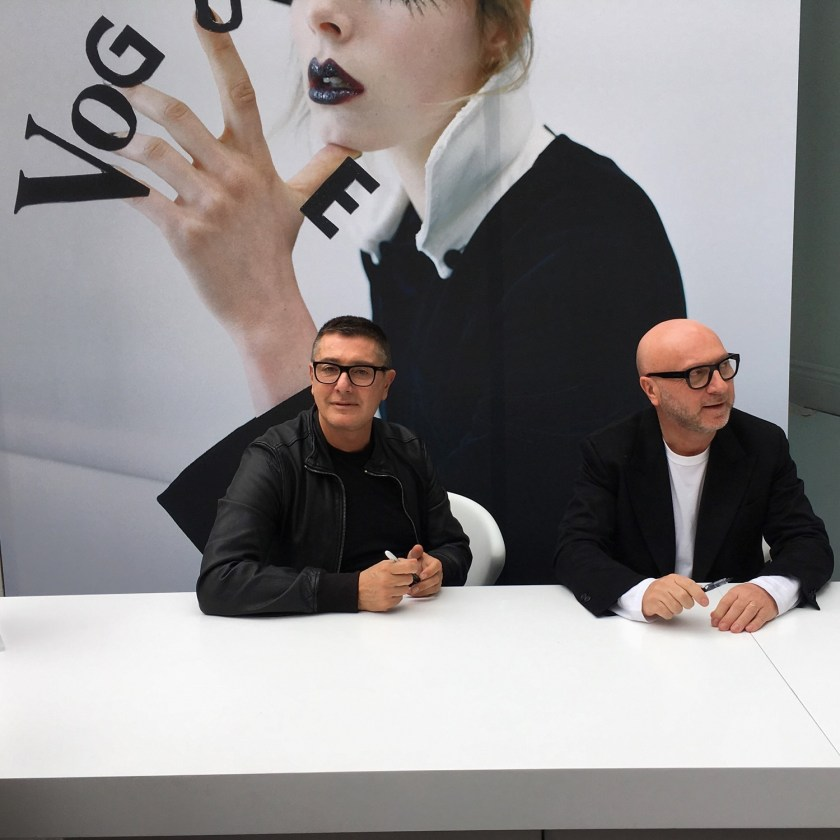 IA UPDATE Domenico Dolce & Stefano Gabbana, Dolce & Gabbana's Italian Journe with Alexandra Shulman at Vogue Festival 2016 by Troy Wise & Rick Guzman. www.imageamplified.com, Image Amplified (18)