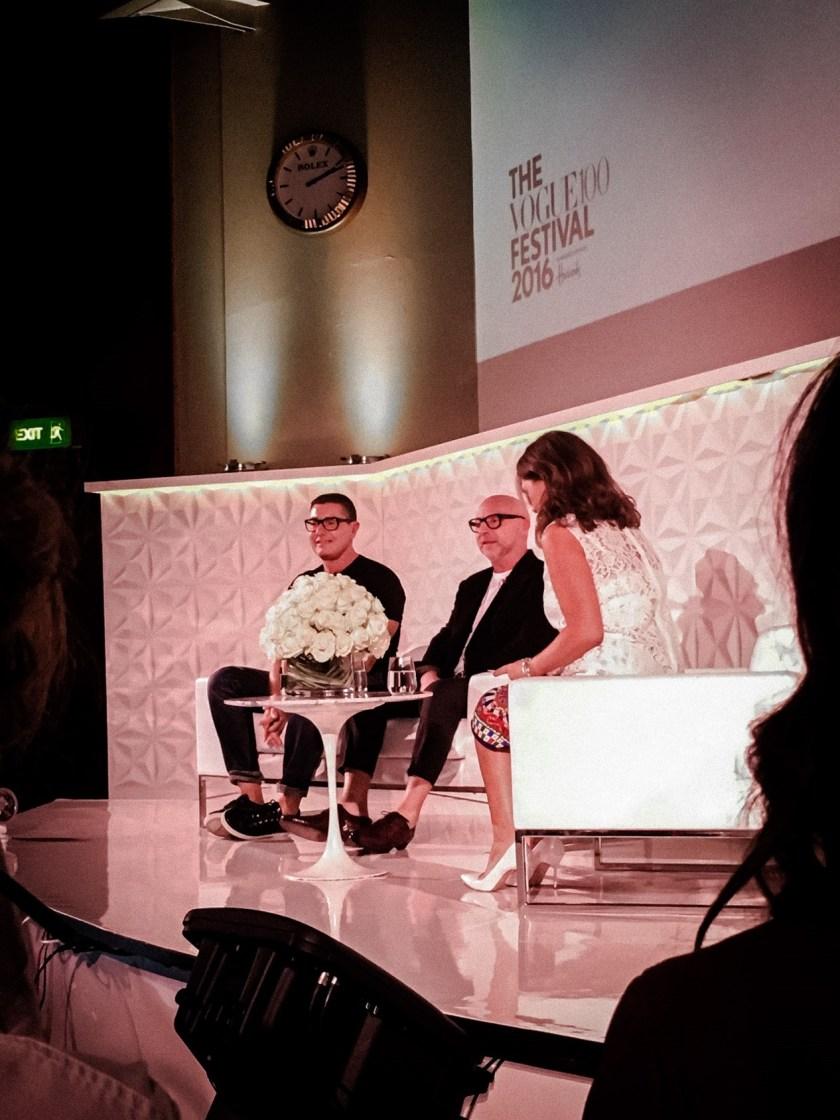 IA UPDATE Domenico Dolce & Stefano Gabbana, Dolce & Gabbana's Italian Journe with Alexandra Shulman at Vogue Festival 2016 by Troy Wise & Rick Guzman. www.imageamplified.com, Image Amplified (27)
