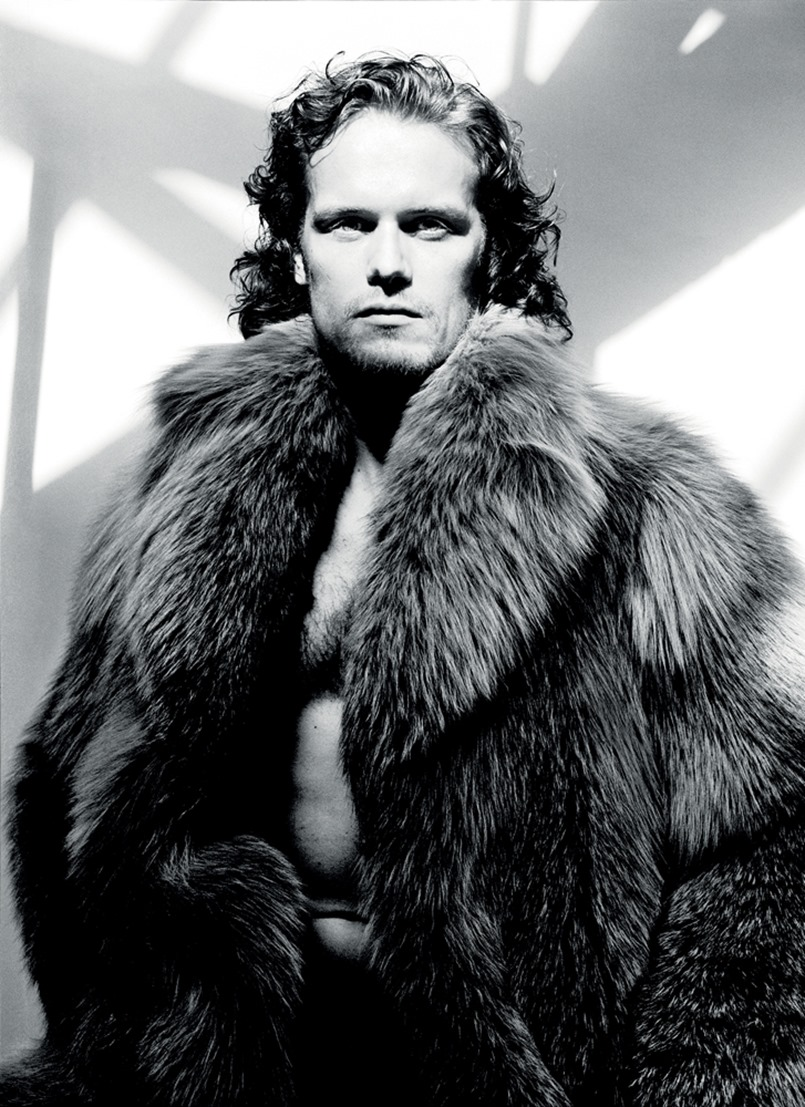 INTERVIEW MAGAZINE Sam Heughan by David Bailey. May 2016, www.imageamplified.com, Image Amplified (1)